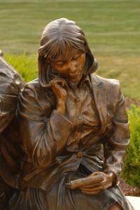 Bronze Sculpture (title) by artist Greg Todd