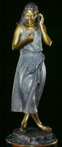 Mountain Rose bronze sculpture by Colorado artist Greg Todd