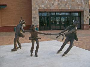 Wild Ice by sculptor Greg Todd