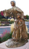 Bronze sculpture of Sister Mary Balbina, With Eyes of Faith, by Colorado sculptor Greg Todd