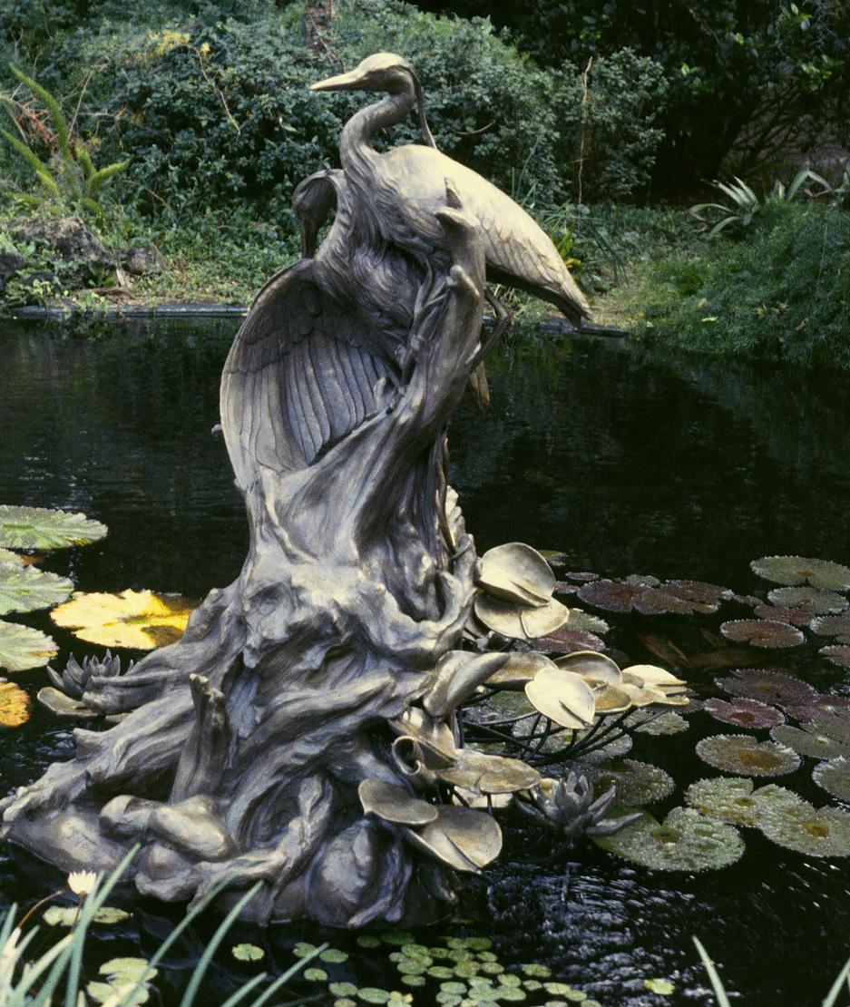 Morning Mist bronze sculpture by Colorado artist Greg Todd