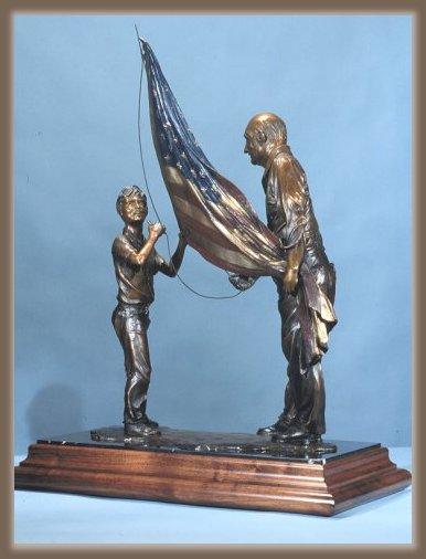 Bronze Sculpture Legacy by artist Greg Todd